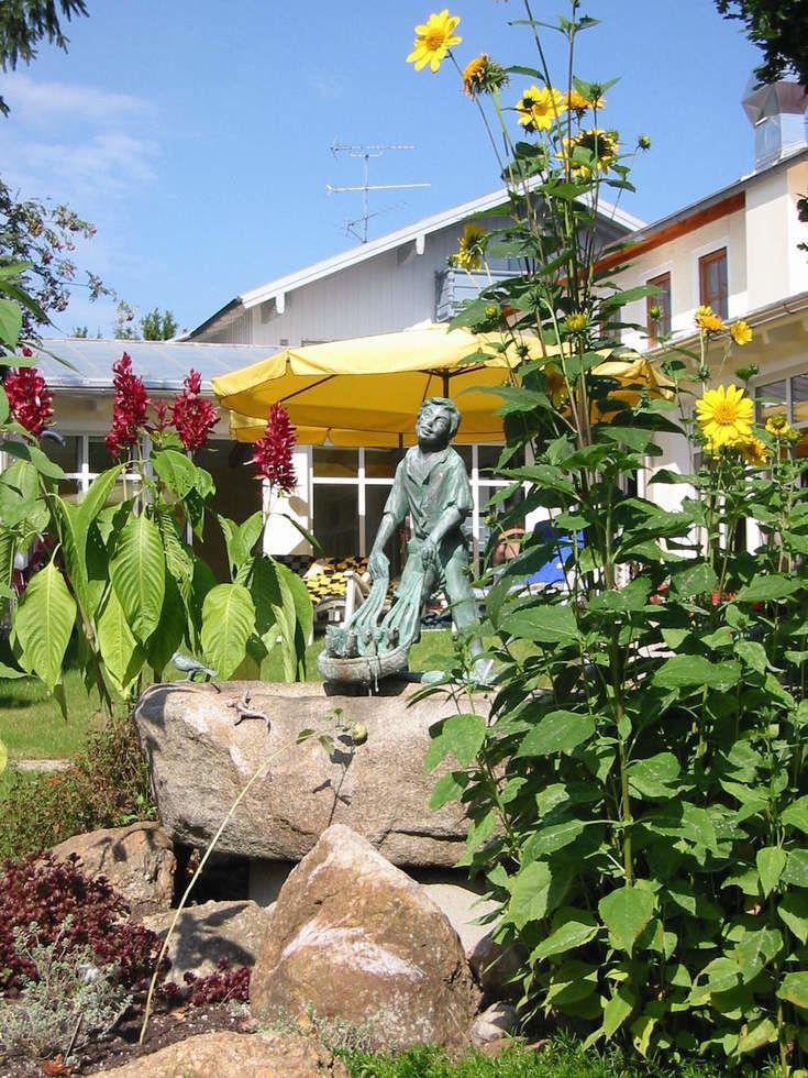 Garten Hotel Quellenhof Bad Birnbach Wellnesshotel